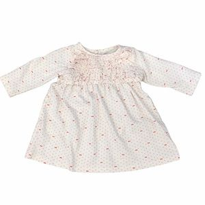 Baby Gap ruffle top hearts dress